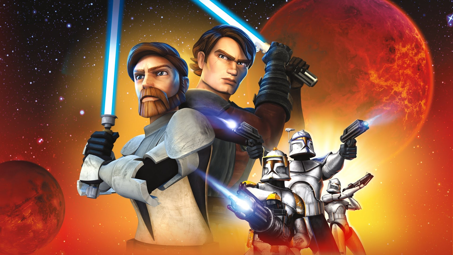 Star Wars The Clone Wars выйдет осенью