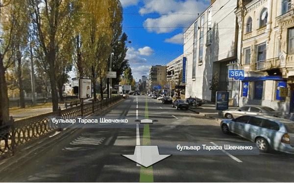 Яндекс запустил «Панорамы улиц» Киева