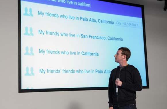 Facebook представил социальный поиск по пользователям и контенту