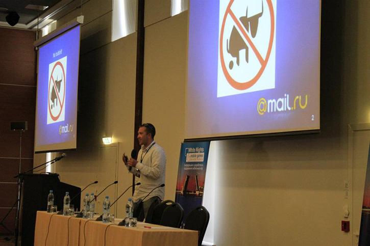 Еще в должности руководителя мобильного направления Mail.ru Games