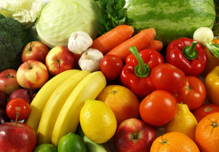 Healthy diet - friuts and vegetables