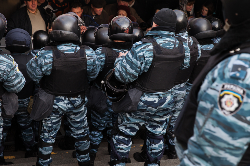 Mass protest against the refusal of the Government of Ukraine on