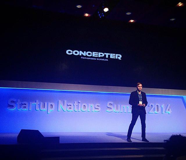 Влад Тисленко из Concepter  представляет Украину на Startup Nations Summit в Сеуле