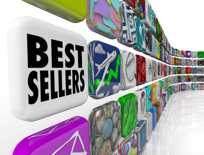 Best Sellers App Ranking List Wall Applications