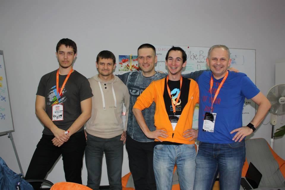 Украинская команда на Lviv Garage 2014