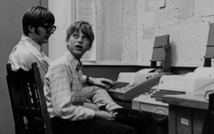 Таким был Билл Гейтс очень-очень давно