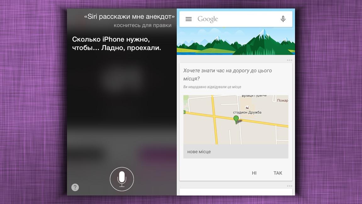 Siri / Google Now