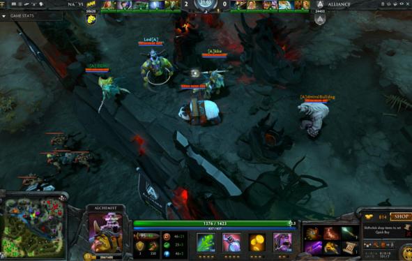 Скриншот из Dota 2