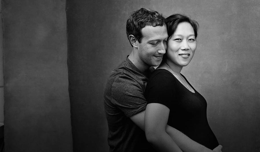 У Цукерберга родилась дочь. Он отдает 99% своих акций Facebook ценой в $45 млрд на благотворительность