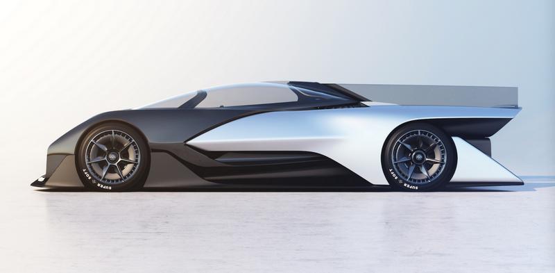 Коцепт-кар FFZERO1 компанії Faraday Future