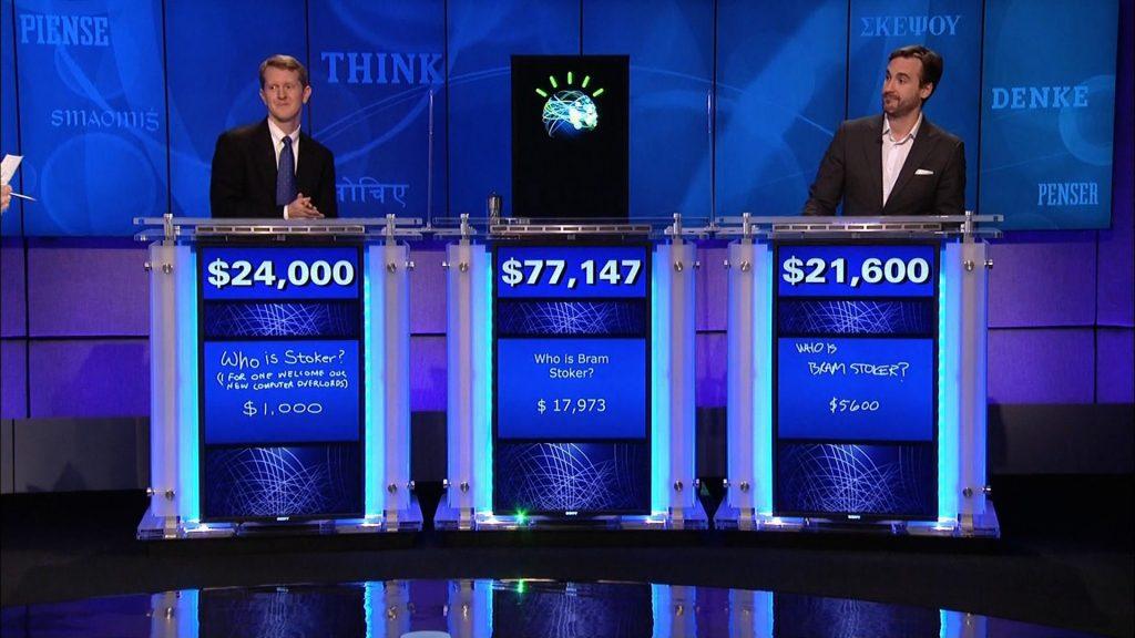 IBM Watson играет (и выигрывает) в Jeopardy против двух лучших игроков