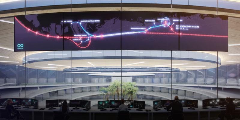 Hyperloop One показала, как будет работать сверхзвуковой поезд в 2020 году (видео)