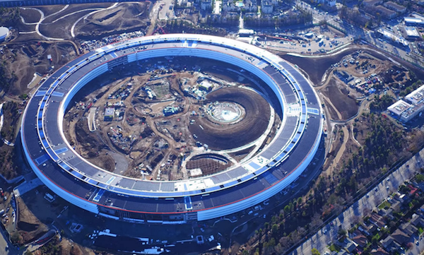 Космический офис Apple откроется в апреле. Есть и название — Apple Park