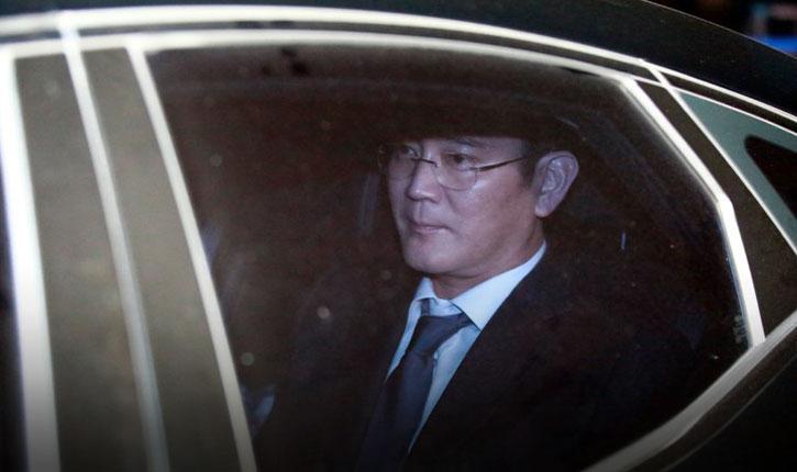 Фактического руководителя Samsung арестовали по делу о коррупции