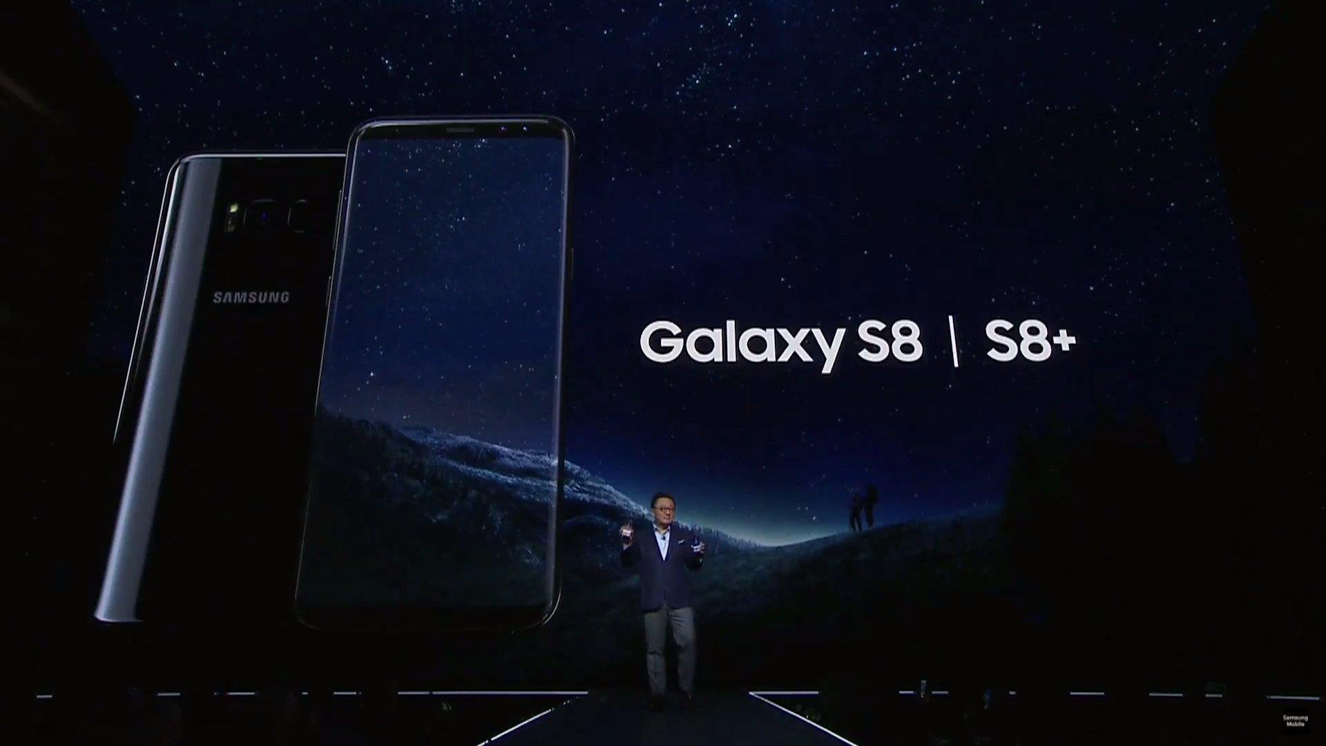 Samsung представила новые флагманы Galaxy S8 и S8+