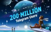 Ежемесячная аудитория Telegram достигла 200 млн пользователей