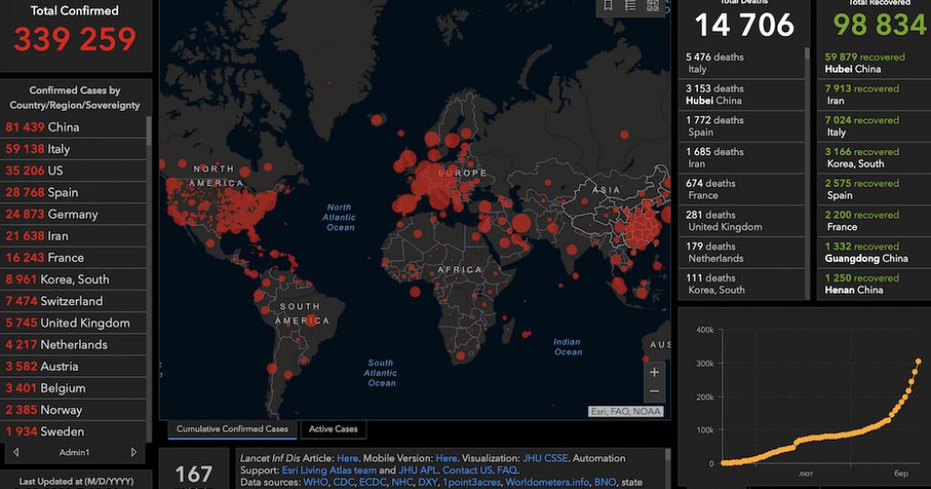 Карта коронавируса онлайн-8